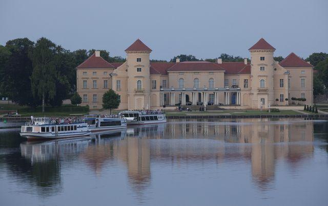 Grienericksee und Schloss Rheinsberg