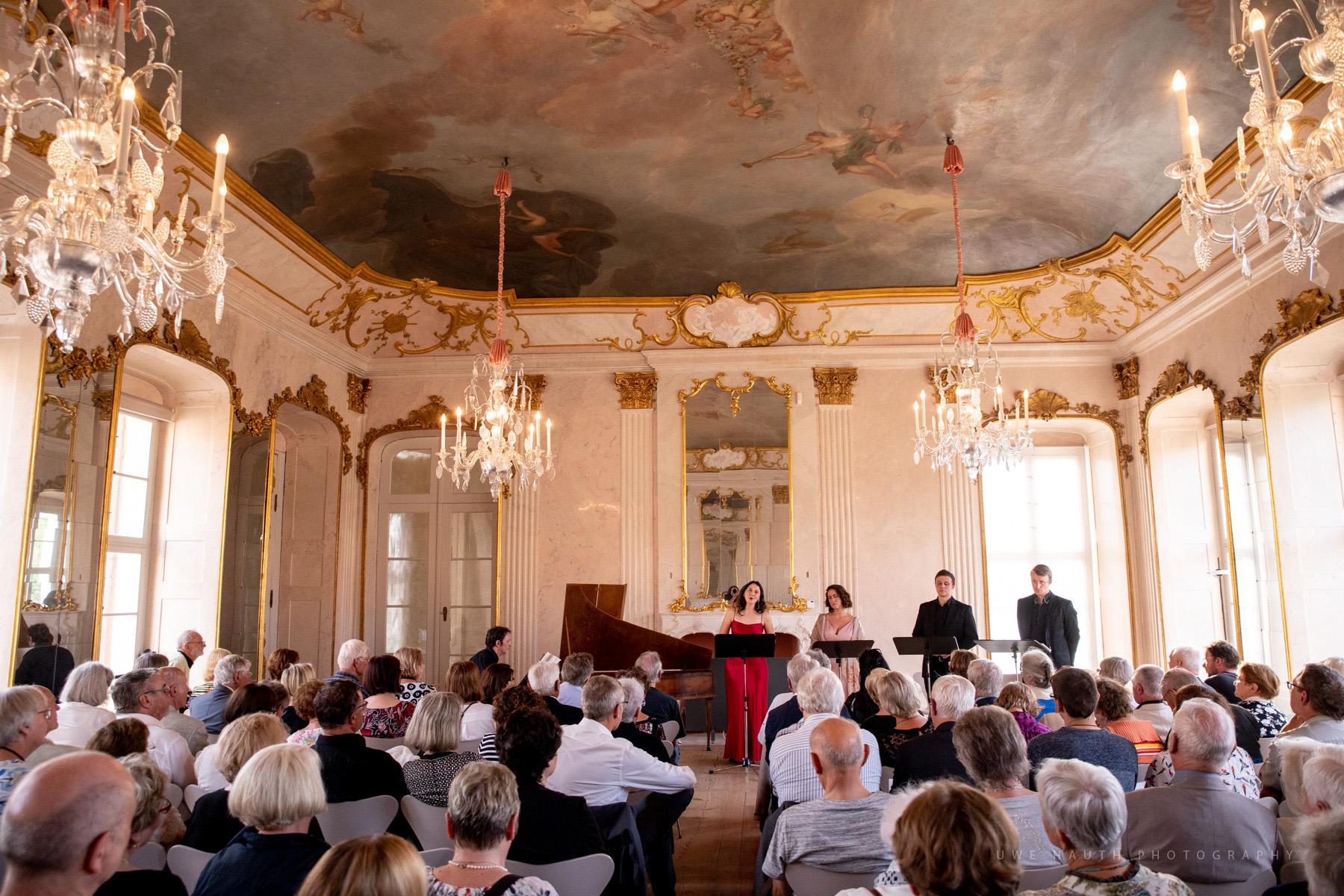 Konzert im Spiegelsaal Schloss Rheinsberg